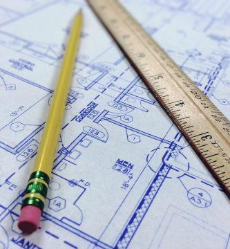Planos de arquitectura de un perito arquitecto