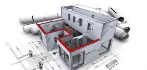 Planos 3d de una casa