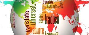 Mapa de mundo con los idiomas que traducimos